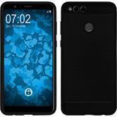 Silicone Case Honor 7x Ultimate black Case