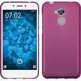 Silicone Case Honor 6a matt hot pink Case