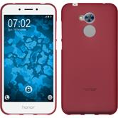 Silikon Hülle Honor 6a matt rot Case