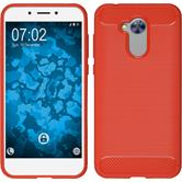 Silicone Case Honor 6a Ultimate red Case