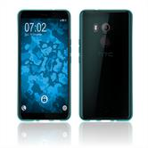 Silicone Case U11 Plus transparent turquoise Case