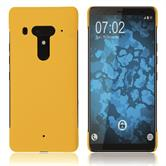 Hardcase U12+ rubberized yellow Cover
