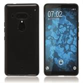 Silikon Hülle U12+  schwarz Case
