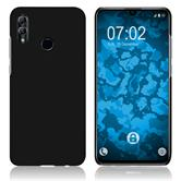 Hardcase Honor 10 Lite rubberized black + protective foils