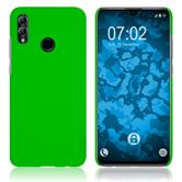 Hardcase Honor 10 Lite rubberized green + protective foils