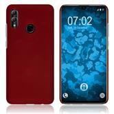 Hardcase Honor 10 Lite rubberized red + protective foils