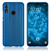 Silikon Hülle Honor 10 Lite matt blau Cover