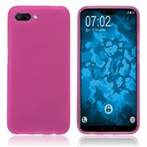 Silikon Hülle Honor 10 matt pink Case
