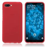 Silikon Hülle Honor 10 matt rot Case