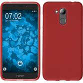 Coque en silicone Honor 6C Pro mate rouge Case