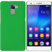 Hardcase for Huawei Honor 7 rubberized green