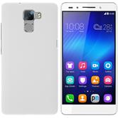 Hardcase for Huawei Honor 7 rubberized white