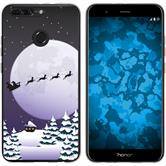 Huawei Honor 8 Pro Silikon-Hülle X Mas Weihnachten  M5