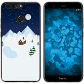 Huawei Honor 8 Pro Silikon-Hülle X Mas Weihnachten  M6