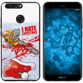 Huawei Honor 8 Pro Silikon-Hülle X Mas Weihnachten  M8