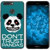 Huawei Honor 8 Pro Silicone Case Crazy Animals Panda M2