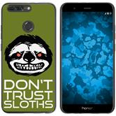 Huawei Honor 8 Pro Silicone Case Crazy Animals sloth M3
