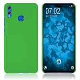 Hardcase Honor 8X rubberized green Cover