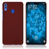 Hardcase Honor 8X rubberized red Cover