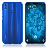 Silicone Case Honor 8X matt blue Cover