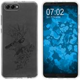 Huawei Honor View 10 Silicone Case floral M7-1