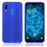 Silicone Case P20 Lite matt blue Case