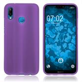 Silicone Case P20 Lite matt purple Case