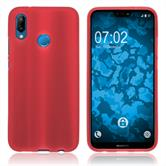 Silicone Case P20 Lite matt red Case