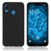 Silicone Case P20 Lite matt black Case