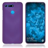 Silicone Case Honor View 20 matt purple Cover