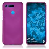 Silicone Case Honor View 20 matt hot pink Cover