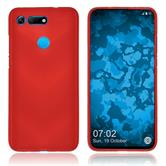 Silicone Case Honor View 20 matt red Cover