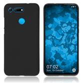 Silicone Case Honor View 20 matt black Cover