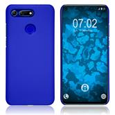 Hardcase Honor View 20 rubberized blue Cover