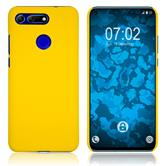 Hardcase Honor View 20 rubberized yellow Cover