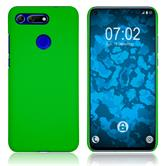 Hardcase Honor View 20 rubberized green Cover