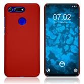 Hardcase Honor View 20 rubberized red Cover