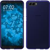 Silikon Hülle Honor View 10 matt lila Case