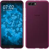 Silikon Hülle Honor View 10 matt pink Case