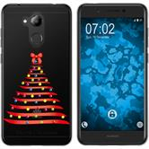 Huawei Nova Smart (Honor 6c) Silikon-Hülle X Mas Weihnachten  M1