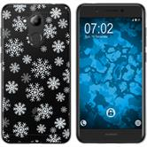 Huawei Nova Smart (Honor 6c) Silikon-Hülle X Mas Weihnachten  M2