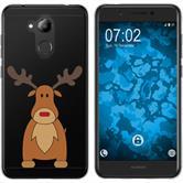 Huawei Nova Smart (Honor 6c) Silikon-Hülle X Mas Weihnachten  M3