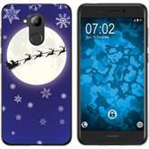 Huawei Nova Smart (Honor 6c) Silikon-Hülle X Mas Weihnachten  M4