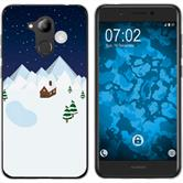 Huawei Nova Smart (Honor 6c) Silicone Case Christmas X Mas M6