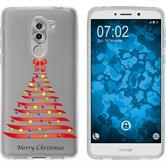Huawei Honor 6x Coque en Silicone Noël X Mas M1