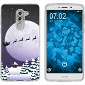 Huawei Honor 6x Silicone Case Christmas X Mas M5