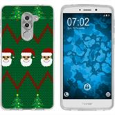 Huawei Honor 6x Silikon-Hülle X Mas Weihnachten  M7