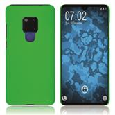 Hardcase Mate 20 rubberized green Cover