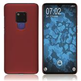 Hardcase Mate 20 rubberized red Cover