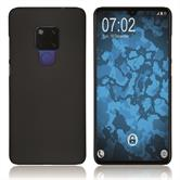 Hardcase Mate 20 rubberized black Cover